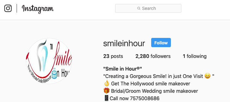 Smile in Hour on Instagram