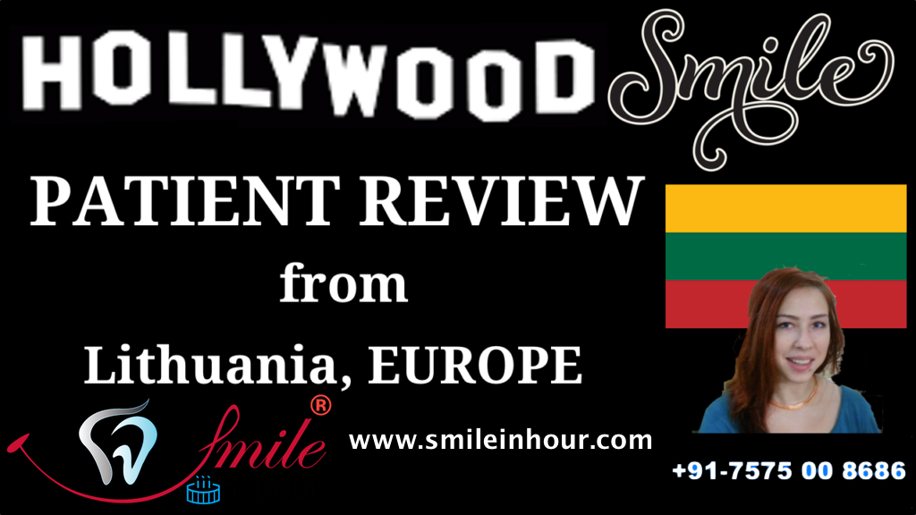 Hollywood Smile Makeover Smile in Hour Ahmedabad Mumbai delhi Reviews