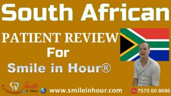 Cap Town South Africa Patient Review Smile in Hour Ahmedabad Gujarat India