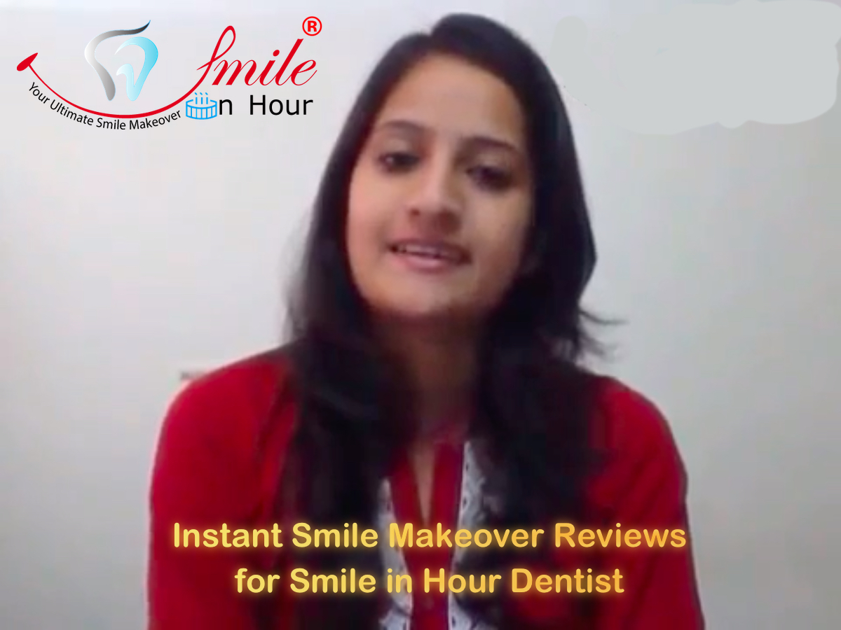 """SMILE IN HOUR"" instant dental smile makeover video testimonial."